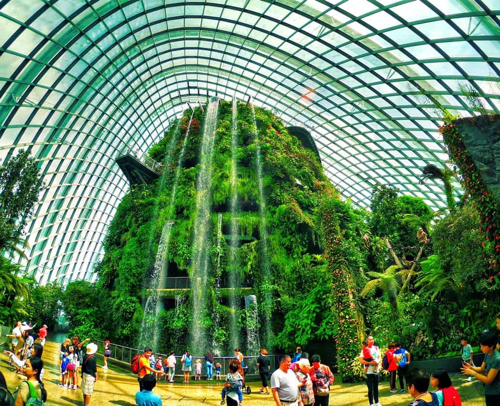 Cloud Forest, Gardens by the Bay, Singapur
