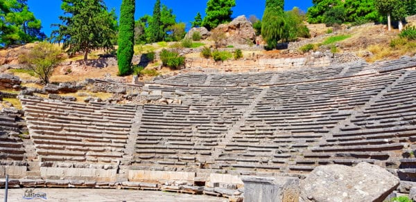 Das Theater in Delphi