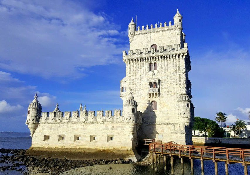 The Belem Tower in Lissabon